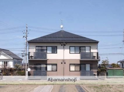長野県松本市、松本駅バス25分権現原下車後徒歩6分の築17年 2階建の賃貸アパート