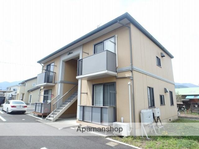 長野県松本市、波田駅徒歩10分の築15年 2階建の賃貸アパート