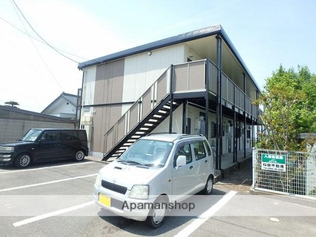 長野県松本市、村井駅徒歩30分の築24年 2階建の賃貸アパート