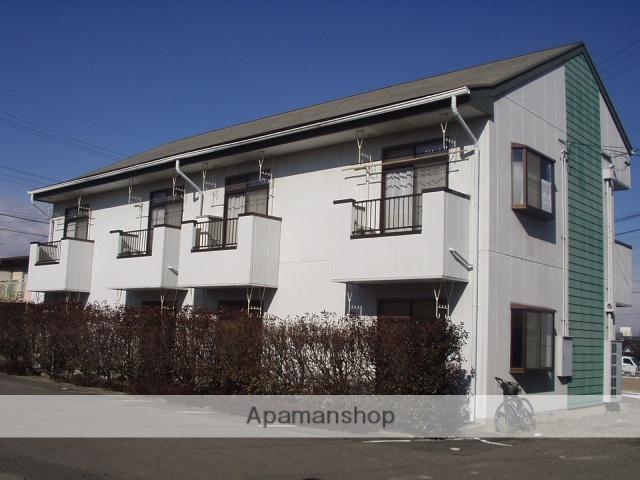 長野県松本市、松本駅バス14分野溝口下車後徒歩9分の築27年 2階建の賃貸アパート