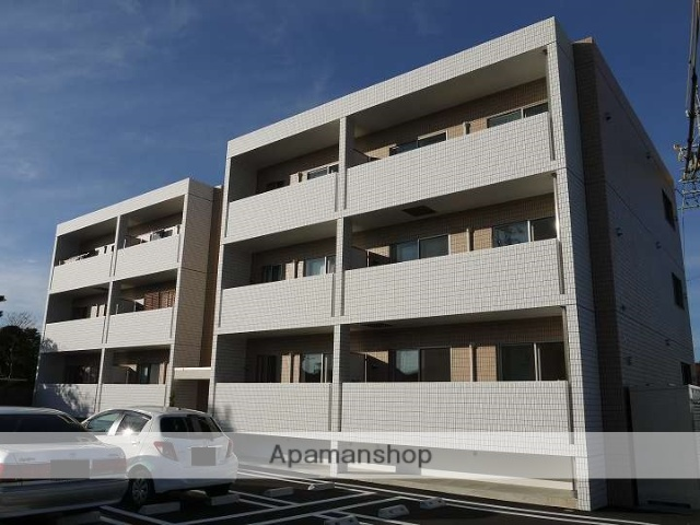 長野県松本市、松本駅アルピコ交通バス10分笹部下車後徒歩5分の築2年 3階建の賃貸マンション