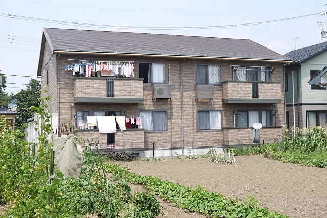 長野県松本市、南松本駅徒歩16分の築13年 2階建の賃貸アパート