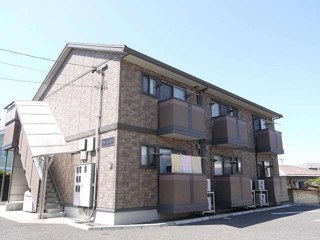 長野県松本市、村井駅徒歩45分の築9年 2階建の賃貸アパート