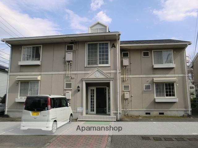 長野県松本市、松本駅バス25分二子橋バス停下車後徒歩5分の築26年 2階建の賃貸アパート