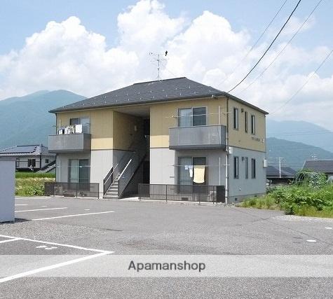 長野県松本市、下島駅徒歩18分の築10年 2階建の賃貸アパート