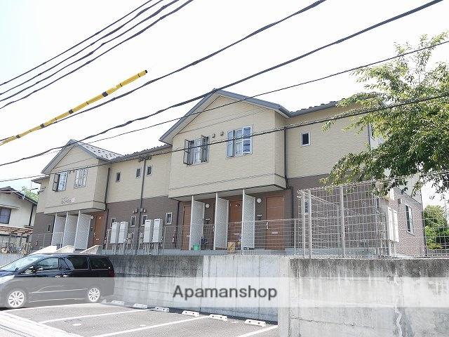 長野県松本市、松本駅バス25分松原東下車後徒歩4分の築7年 2階建の賃貸アパート