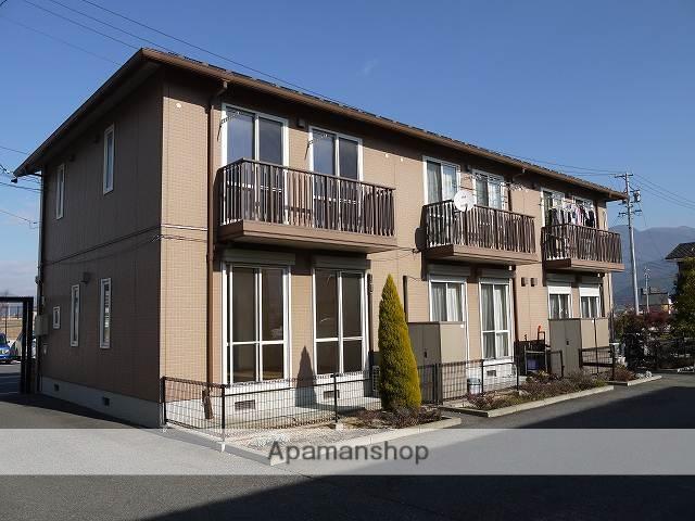 長野県松本市、南松本駅徒歩19分の築13年 2階建の賃貸テラスハウス
