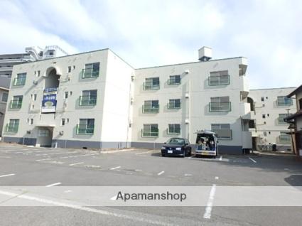 長野県松本市、松本駅バス9分筑摩下車後徒歩7分の築37年 3階建の賃貸マンション