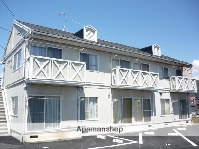 長野県岡谷市、下諏訪駅徒歩20分の築26年 2階建の賃貸アパート