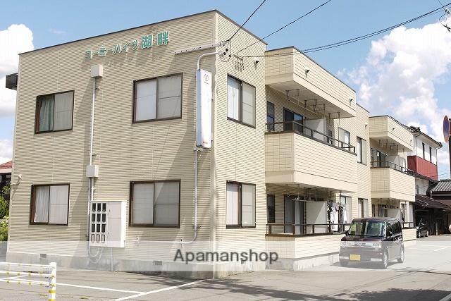 長野県岡谷市、下諏訪駅徒歩46分の築23年 2階建の賃貸アパート