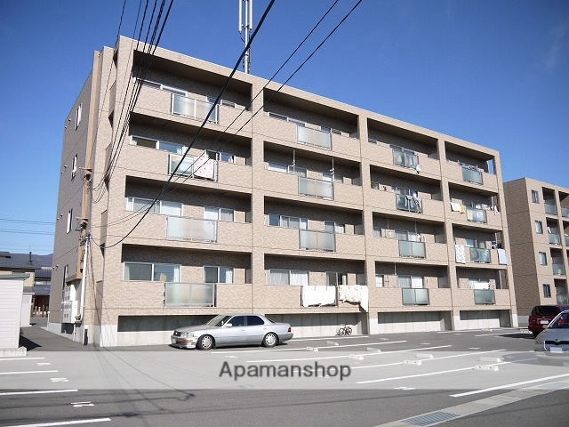 長野県岡谷市、下諏訪駅徒歩36分の築8年 4階建の賃貸マンション
