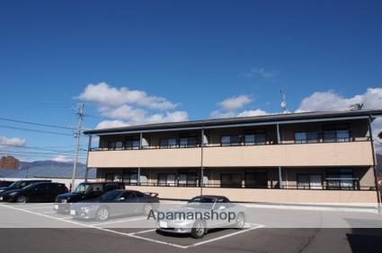 長野県諏訪市、上諏訪駅バス24分渋崎下車後徒歩3分の築12年 2階建の賃貸アパート