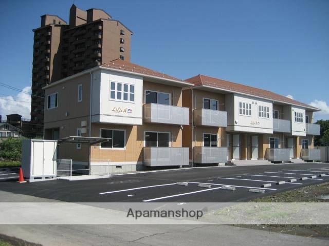 長野県諏訪市、上諏訪駅徒歩30分の築9年 2階建の賃貸アパート