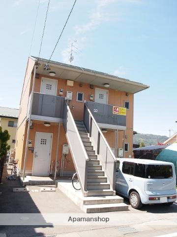 長野県諏訪市、上諏訪駅徒歩30分の築10年 2階建の賃貸アパート