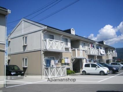 長野県諏訪市、上諏訪駅諏訪バス ㈱バス18分文出下車後徒歩5分の築28年 2階建の賃貸アパート