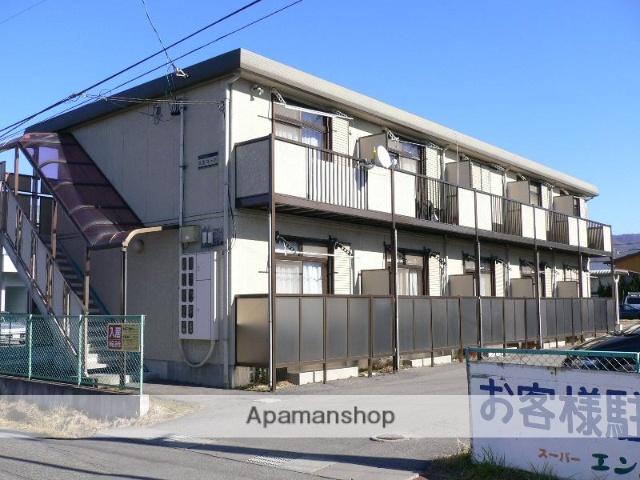 長野県諏訪市、上諏訪駅バス18分六斗橋下車後徒歩5分の築20年 2階建の賃貸アパート