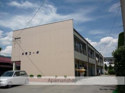 長野県岡谷市、岡谷駅バス15分西堀下車後徒歩3分の築41年 2階建の賃貸アパート