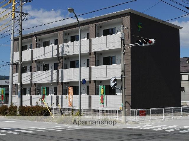 長野県岡谷市、下諏訪駅徒歩16分の築3年 3階建の賃貸マンション