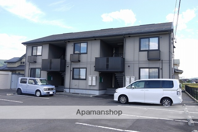 長野県諏訪市、上諏訪駅アルピコ交通バス20分田辺農協前下車後徒歩4分の築14年 2階建の賃貸アパート