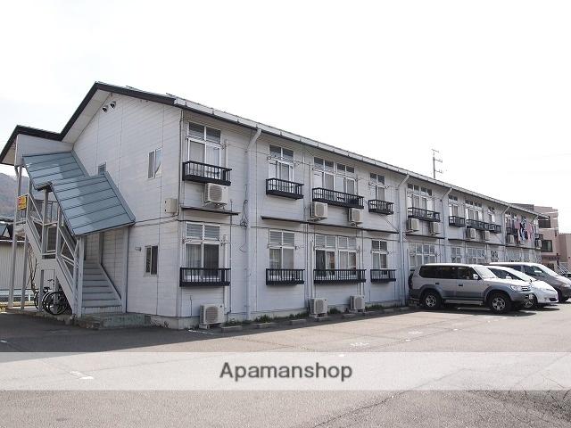 長野県諏訪市、茅野駅徒歩35分の築27年 2階建の賃貸アパート