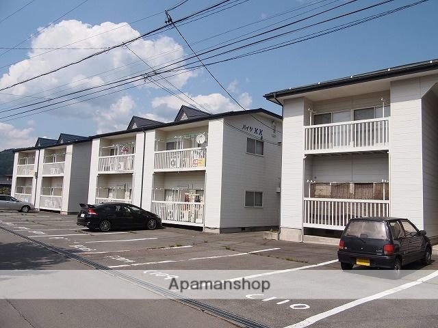 長野県諏訪市、茅野駅かりんちゃん外回り線バス22分上赤沼下車後徒歩1分の築22年 2階建の賃貸アパート