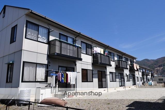 長野県諏訪市、上諏訪駅かりんちゃんバスバス21分飯島下車後徒歩5分の築19年 2階建の賃貸アパート