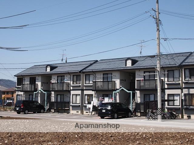 長野県諏訪市、上諏訪駅諏訪バス㈱バス25分諏訪インター前下車後徒歩3分の築21年 2階建の賃貸アパート