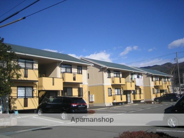 長野県諏訪市、上諏訪駅諏訪バス㈱バス21分飯島下車後徒歩8分の築19年 2階建の賃貸アパート