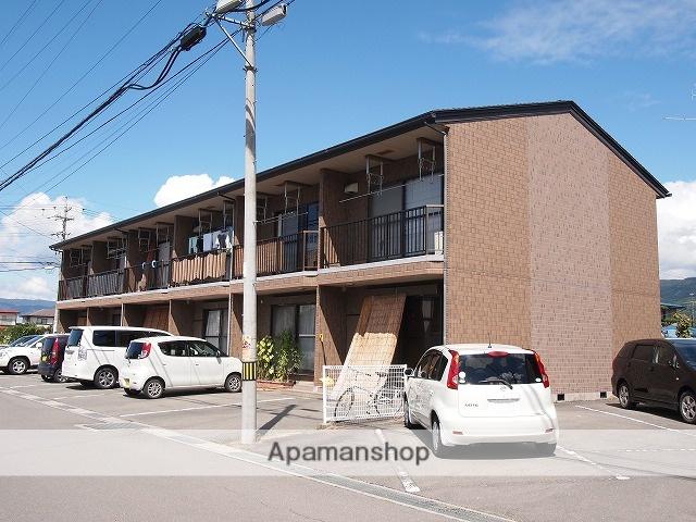 長野県諏訪市、上諏訪駅バス15分下金子下車後徒歩1分の築21年 2階建の賃貸アパート