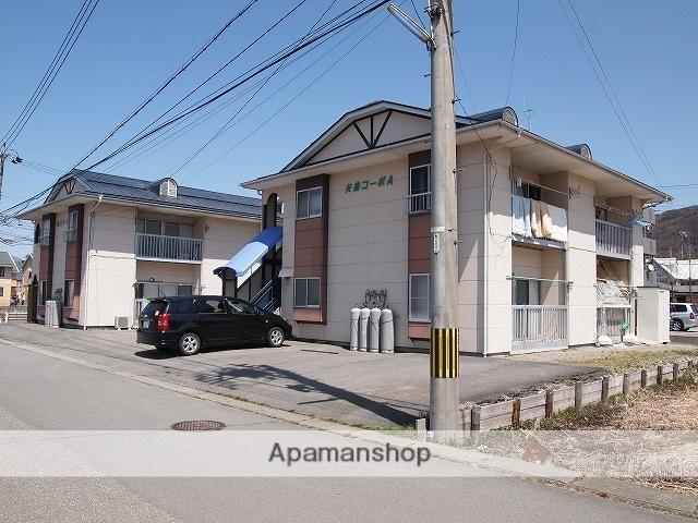 長野県諏訪市、茅野駅バス25分諏訪インター前下車後徒歩3分の築30年 2階建の賃貸アパート