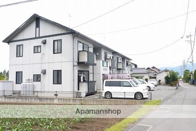 長野県松本市、新村駅徒歩21分の築19年 2階建の賃貸アパート