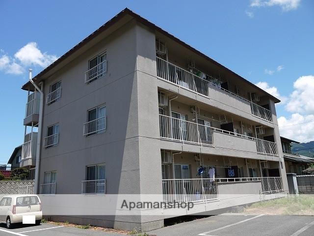 長野県松本市、村井駅徒歩28分の築40年 3階建の賃貸マンション
