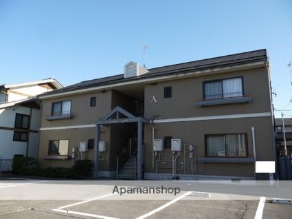 長野県松本市、平田駅徒歩6分の築24年 2階建の賃貸アパート