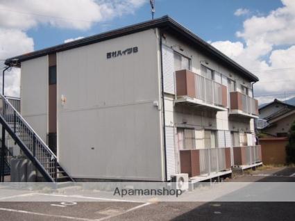 長野県松本市、広丘駅徒歩43分の築28年 2階建の賃貸アパート