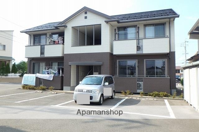 長野県松本市、松本駅バス17分下二子下車後徒歩5分の築15年 2階建の賃貸アパート
