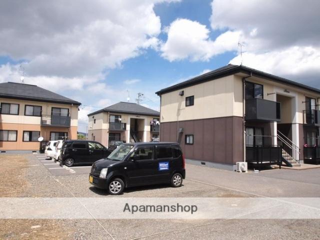 長野県松本市、村井駅徒歩46分の築17年 2階建の賃貸アパート