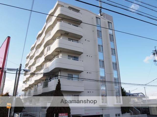 長野県松本市、南松本駅徒歩17分の築28年 6階建の賃貸マンション