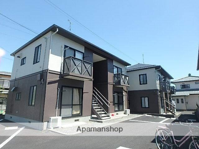 長野県塩尻市、広丘駅徒歩15分の築20年 2階建の賃貸アパート