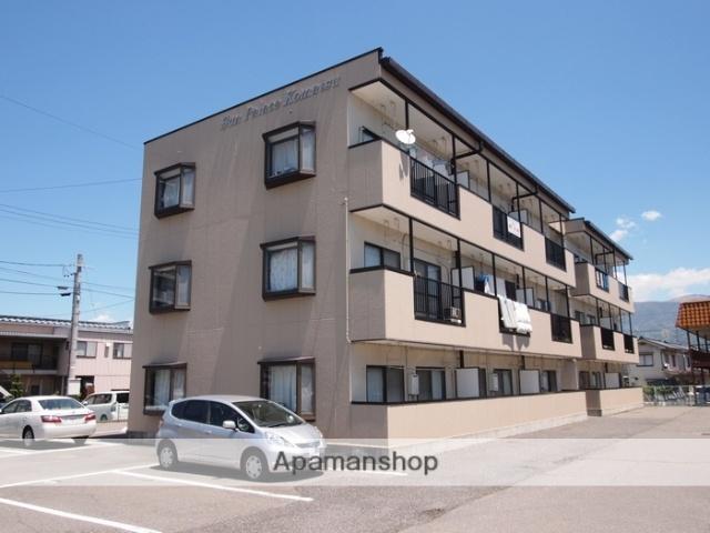 長野県塩尻市、広丘駅徒歩8分の築22年 3階建の賃貸マンション