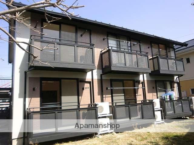 長野県松本市、広丘駅徒歩60分の築17年 2階建の賃貸アパート