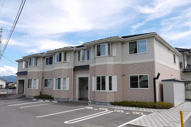 長野県松本市、三溝駅徒歩19分の築8年 2階建の賃貸アパート