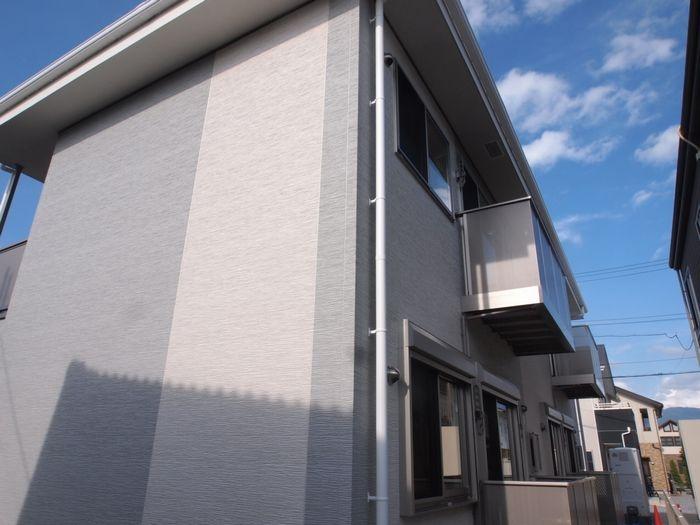 長野県塩尻市、広丘駅徒歩17分の新築 2階建の賃貸アパート