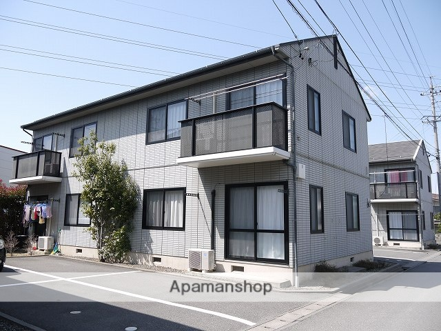 長野県松本市、平田駅徒歩19分の築21年 2階建の賃貸アパート