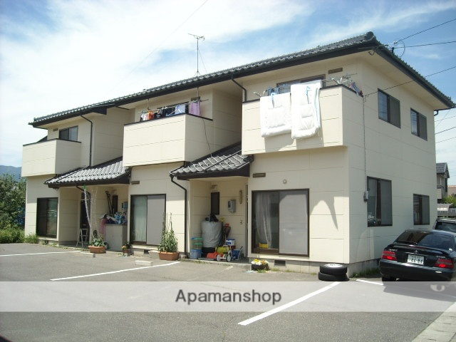 長野県塩尻市、塩尻駅徒歩4分の築24年 2階建の賃貸アパート