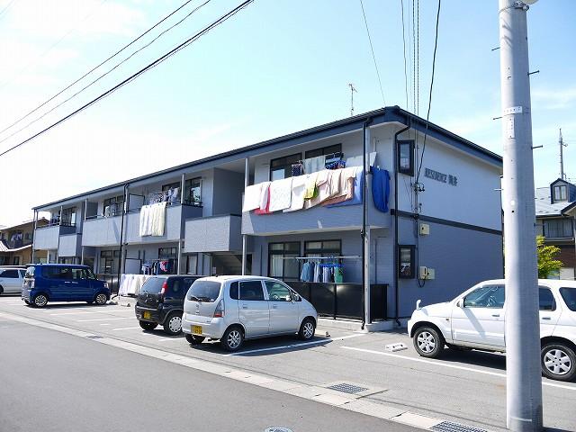 長野県松本市、村井駅徒歩27分の築17年 2階建の賃貸マンション