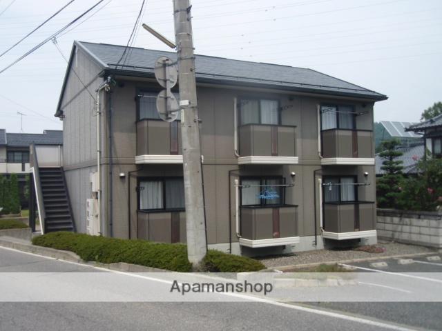 長野県松本市、北松本駅徒歩15分の築27年 2階建の賃貸アパート