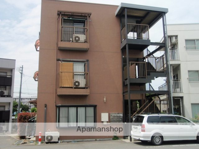 長野県松本市、松本駅徒歩3分の築24年 3階建の賃貸マンション