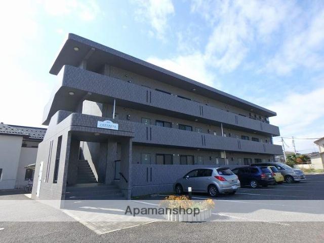 長野県松本市、松本駅バス14分追分下車後徒歩12分の築13年 3階建の賃貸マンション