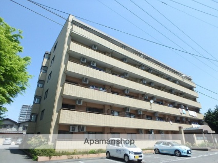 長野県松本市、松本駅徒歩15分の築27年 6階建の賃貸マンション