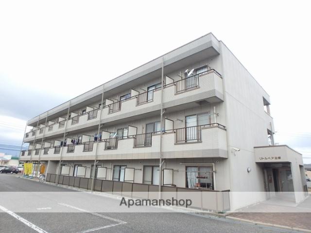 長野県松本市、松本駅バス15分洋菜センター下車後徒歩4分の築17年 3階建の賃貸マンション
